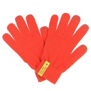 Перчатки  Touchgloves Red TrueSpin. Цвет: оранжевый