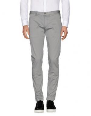 Повседневные брюки VERDERA. Цвет: светло-серый