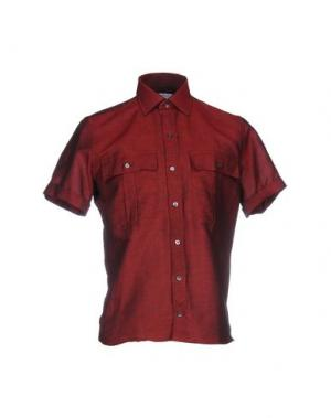 Pубашка RICHARD JAMES. Цвет: красно-коричневый