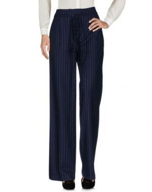 Повседневные брюки VERONIQUE BRANQUINHO. Цвет: темно-синий
