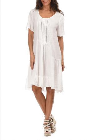 Платье LIN POUR LAUTRE L'AUTRE. Цвет: белый
