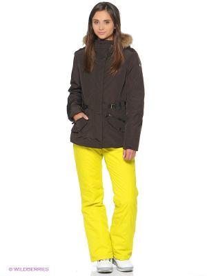 Куртка CMP. Цвет: темно-коричневый