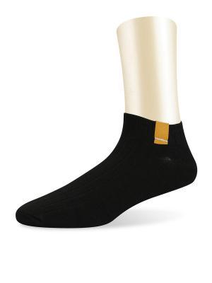 Носки спортивные короткие -комплект 2 пары Glamuriki. Цвет: черный, бежевый