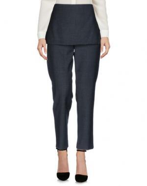 Повседневные брюки MAISON FLÂNEUR. Цвет: стальной серый