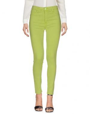 Повседневные брюки CRISTINAEFFE. Цвет: кислотно-зеленый