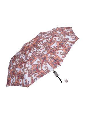 Зонт Slava Zaitsev. Цвет: серый,красный