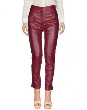Повседневные брюки DIOR. Цвет: красно-коричневый