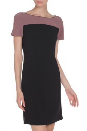 Платье приталенного кроя Liu Jo. Цвет: черный