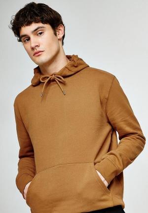Худи Topman. Цвет: коричневый