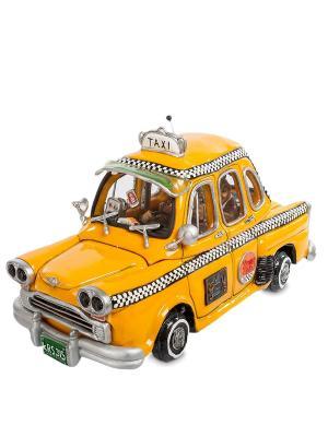 Статуэтка Taxi The Comical World of Stratford. Цвет: желтый
