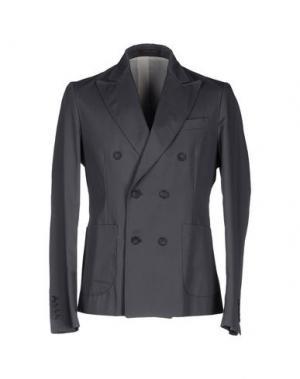 Пиджак GUYA G.. Цвет: свинцово-серый