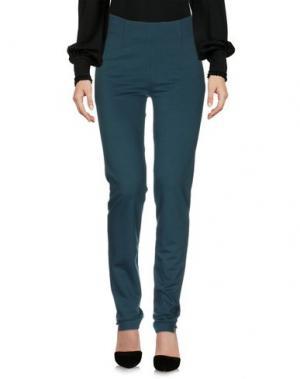 Повседневные брюки SIYU. Цвет: темно-зеленый