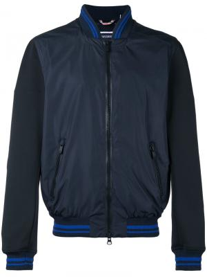 Куртка-бомбер  Louis Rossignol. Цвет: синий