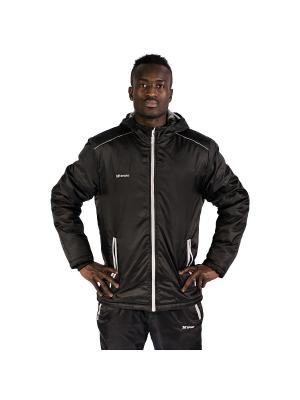 Куртка утепленная Futuro 2K. Цвет: черный, серебристый