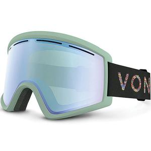 Маска для сноуборда  Cleaver Mint/Stellar Chrome Von Zipper. Цвет: зеленый
