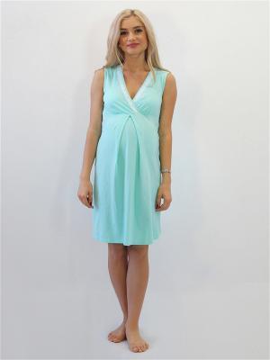 Ночная сорочка Адель. Цвет: светло-зеленый