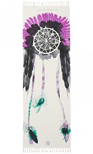 Полотенце для йоги warrior La Vie Boheme Yoga. Цвет: ivory