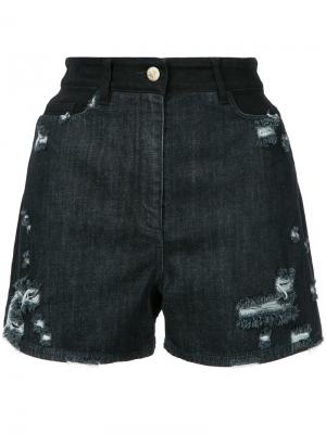 Thana distressed shorts Public School. Цвет: чёрный
