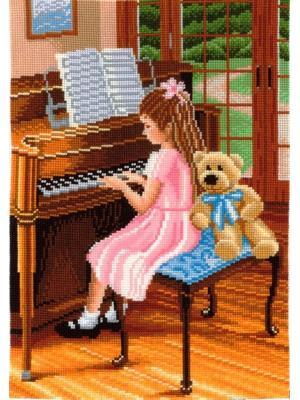 Набор для творчества Пианистка Сделай своими руками. Цвет: белый