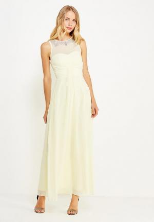 Платье Little Mistress. Цвет: желтый