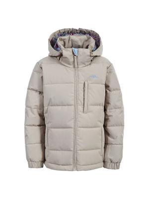 Куртка Trespass. Цвет: темно-бежевый