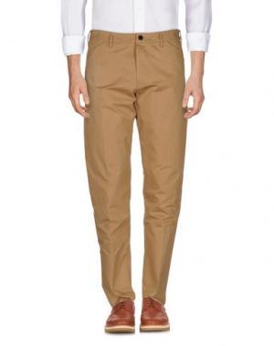 Повседневные брюки ALEXANDER WANG. Цвет: верблюжий