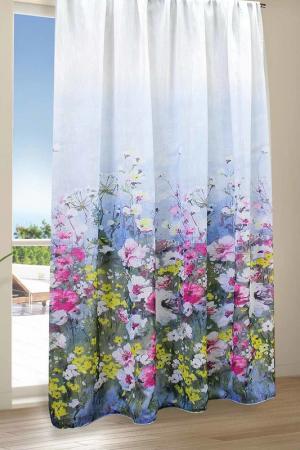 Тюль Акварели 200x270 Amore Mio. Цвет: розовый