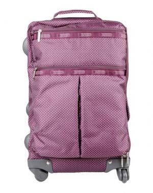 Чемодан/сумка на колесиках LESPORTSAC. Цвет: розовато-лиловый