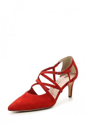 Туфли Tamaris. Цвет: красный