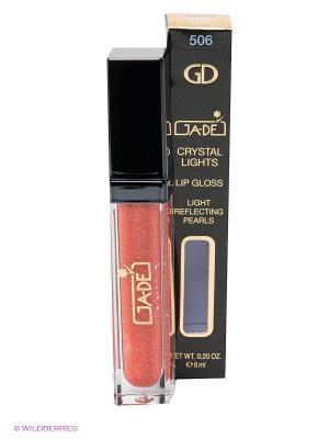 Блеск для губ Crystal Lights Gloss, 506 тон GA-DE. Цвет: персиковый