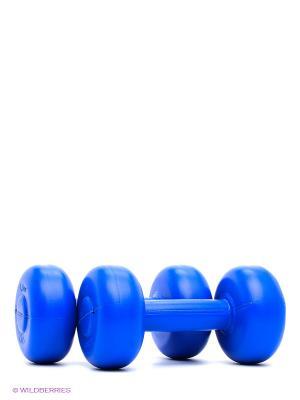 Гантели 1,5 кг Larsen. Цвет: синий