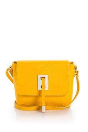 Сумка 160397 Stefania Maiaroli. Цвет: желтый