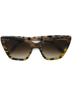 Солнцезащитные очки Calvi Prism. Цвет: коричневый