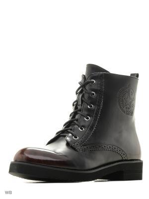 Ботинки Dino Ricci. Цвет: темно-коричневый, черный