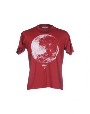 Футболка MISERICORDIA. Цвет: красно-коричневый