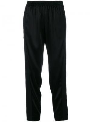 Укороченные брюки Gianluca Capannolo. Цвет: чёрный