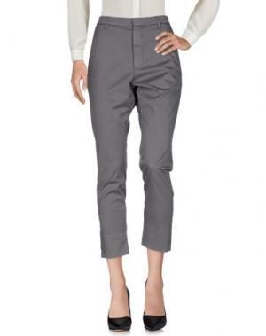 Повседневные брюки HOPE. Цвет: серый