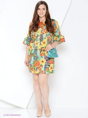 Платье Milana Style. Цвет: зеленый