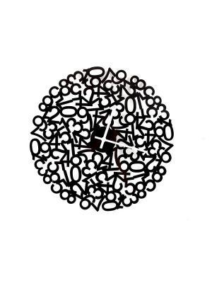 Часы настенные Русские подарки. Цвет: черный