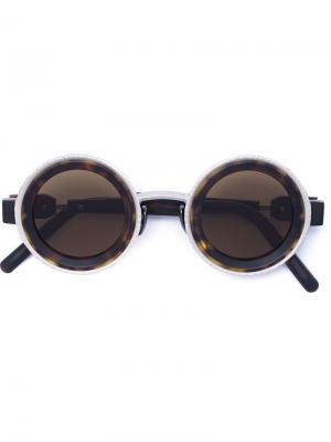 Солнцезащитные очки Mask Z3 Kuboraum. Цвет: чёрный