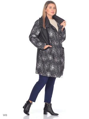 Пальто Сесилья VIKO. Цвет: черный