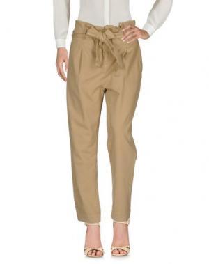 Повседневные брюки 0039 ITALY. Цвет: верблюжий