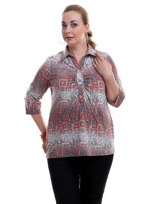 Блуза OLSI. Цвет: оранжевый