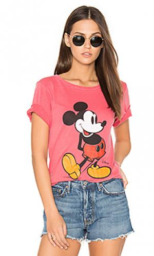 Футболка mickey mouse Junk Food. Цвет: красный