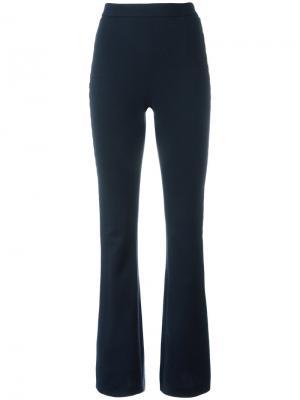 Расклешенные брюки с лампасами Pierre Balmain. Цвет: синий
