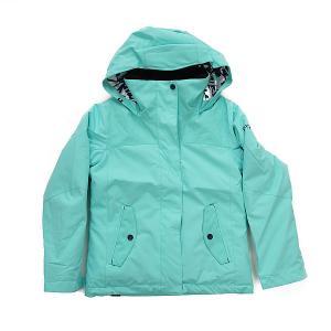 Куртка детская  Rx Jet Blue Radiance Roxy. Цвет: голубой