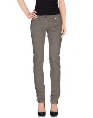 Повседневные брюки ELISABETTA FRANCHI. Цвет: зеленый-милитари