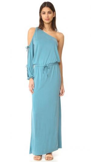 Платье с Elodie одежда YFB Young Fabulous & Broke. Цвет: турецкий голубой