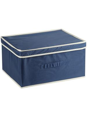 Ящик для хранения COMFORT Blue WHITE FOX. Цвет: синий