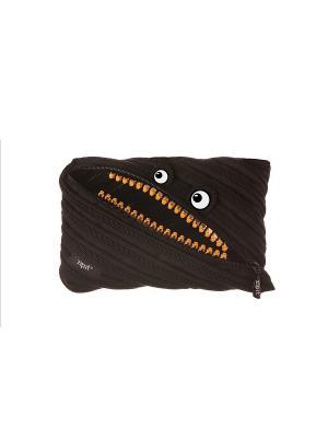 Пенал-сумочка GRILLZ JUMBO POUCH, цвет черный ZIPIT. Цвет: черный